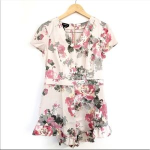 Bebe Floral romper new with tags Size 8